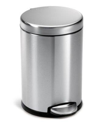 simplehuman Trash Can, 4.5L Mini Round