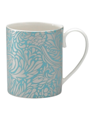 monsoon dinnerware collection by denby, lucille teal can mug