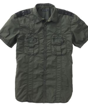 INC International Concepts Shirt, Short Sleeved Cover
