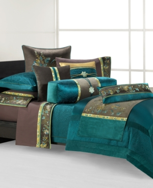 Natori Bedding, Potala Palace Full/Queen Duvet Cover Bedding