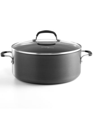 Emeril by All-Clad Hard Anodized 5 Qt. Covered Dutch Oven ...