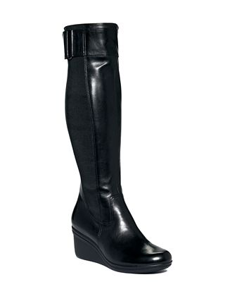 kenneth cole reaction worth your while wedge boots shoes