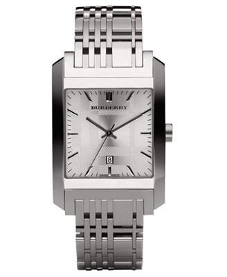 burberry timepiece s stainless steel bracelet bu1567