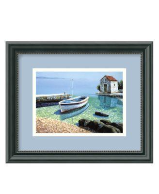 Amanti Art Wall Art, Morning Reflections Framed Art Print by Frane Mlinar