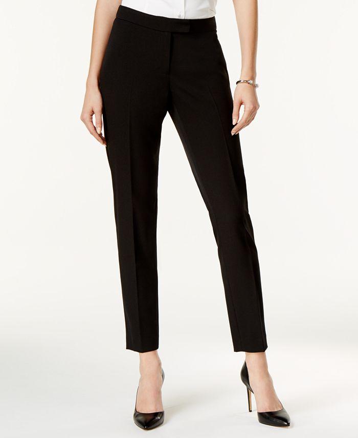 Anne Klein - Slim-Fit Pants