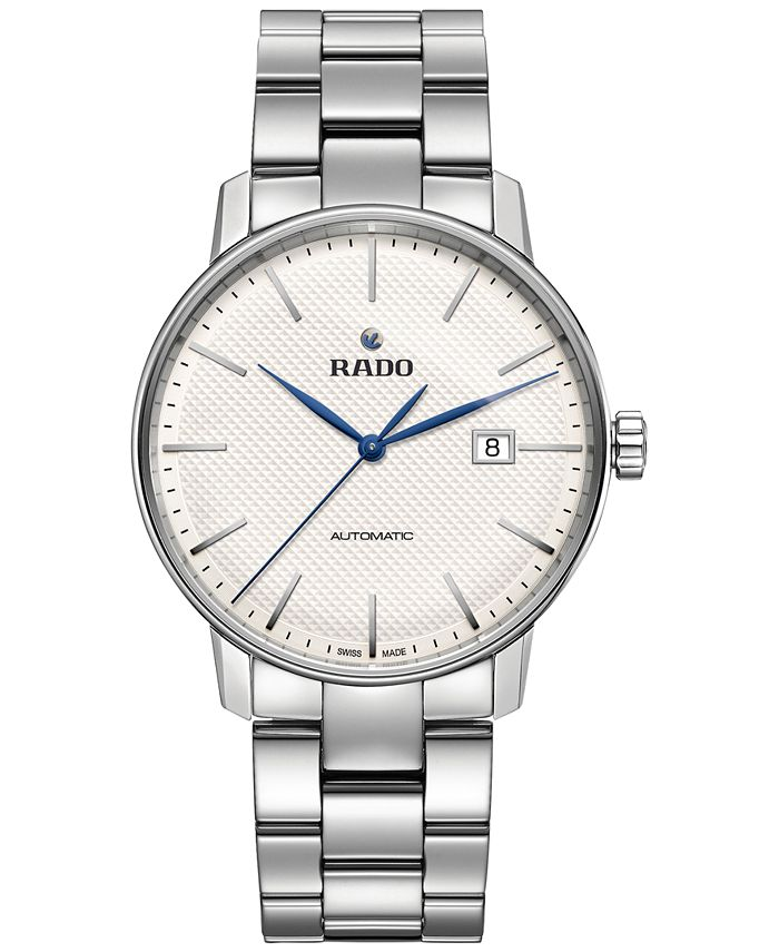 Rado - Unisex Swiss Automatic Coupole Classic Stainless Steel Bracelet Watch 41mm R22876013