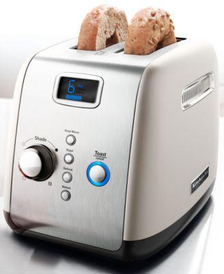 KitchenAid KMT223CS Toaster, Architect Digital 2 Slice