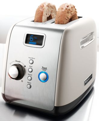 KitchenAid KMT223CS Architect Digital 2 Slice Toaster