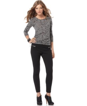 Steve Madden Pants, Zipper Leggings