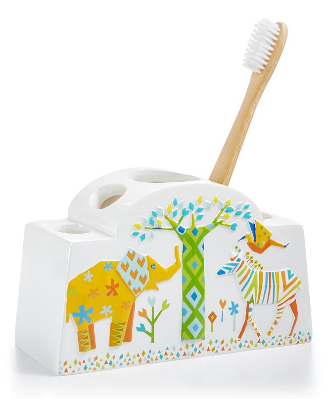 Creative Bath Origami Jungle Toothbrush Holder