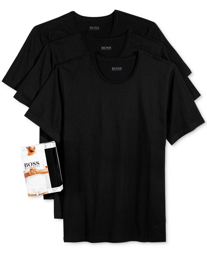 BOSS - Underwear, Cotton Crew T Shirt 3 Pack