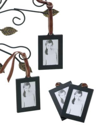 Leeber Picture Frames, Set of 4 Leather Hanging