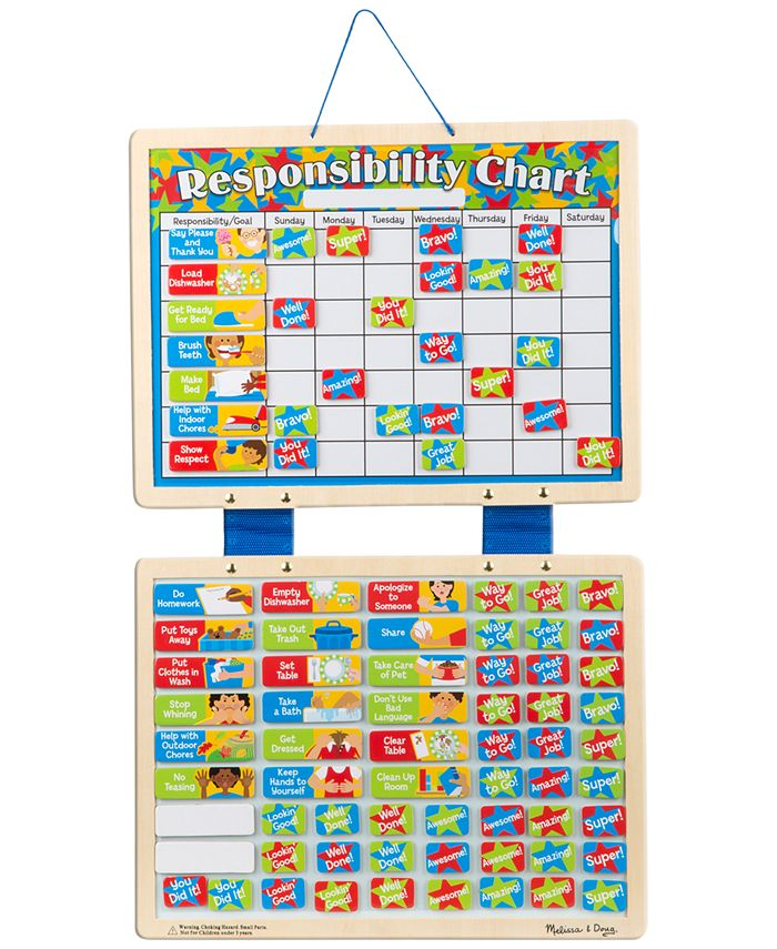 Melissa and Doug - Magnetic Responsibility Chart
