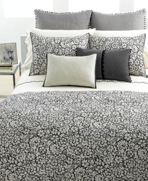 Vera Wang Bedding, French Paisley Queen Duvet Cover Bedding