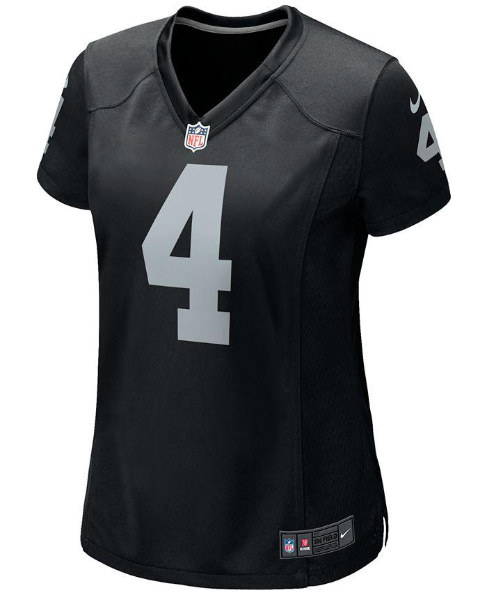 Nike Women's Derek Carr Las Vegas Raiders Game Jersey & Reviews ...