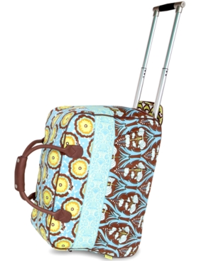 Amy Butler Rolling Duffel, Graceful Traveler Carry On
