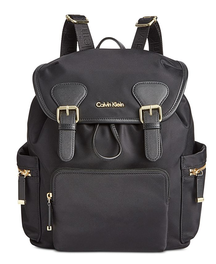 Calvin Klein - Small Double Buckle Backpack