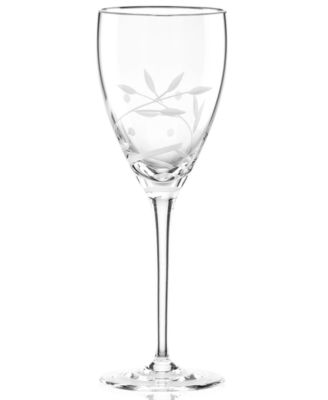 Lenox Stemware, Opal Innocence Platinum Signature Wine Glass