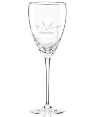 Lenox Stemware, Opal Innocence Platinum Signature Wine Glass