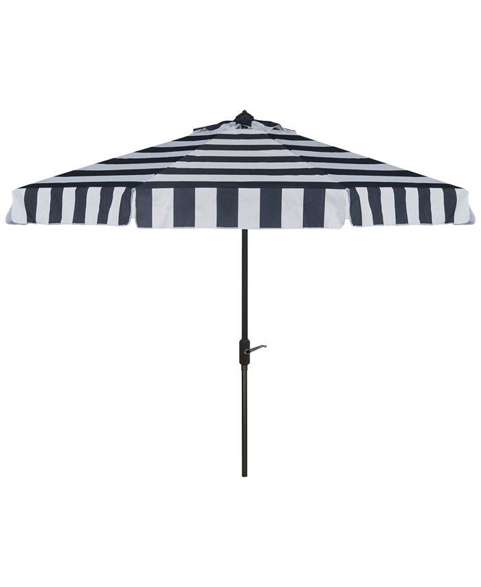 Safavieh - Nordan Outdoor 9' Umbrella, Quick Ship