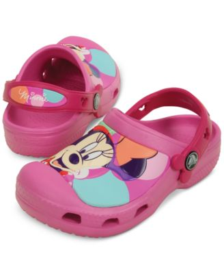 Crocs Minnie Mouse Colorblock Clogs
