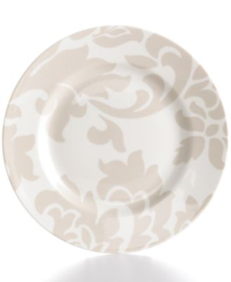 Martha Stewart Collection Lisbon Gray Salad Plate