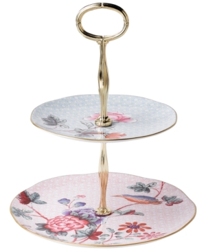 Wedgwood Dinnerware, Cuckoo Two Tier Cake Stand