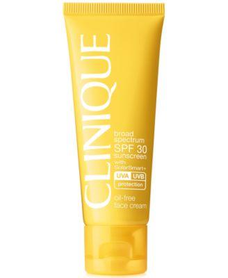 Broad Spectrum SPF 30 Sunscreen Oil-Free Face Cream, 1.7 oz.