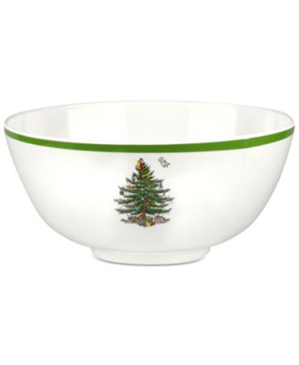 CLOSEOUT! Christmas Tree Melamine Bowl