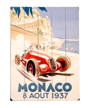 ArteHouse Wall Art, Monaco Wooden Sign