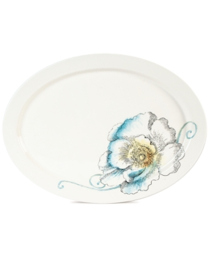 Edie Rose by Rachel Bilson Dinnerware, Rose Large Oval Platter