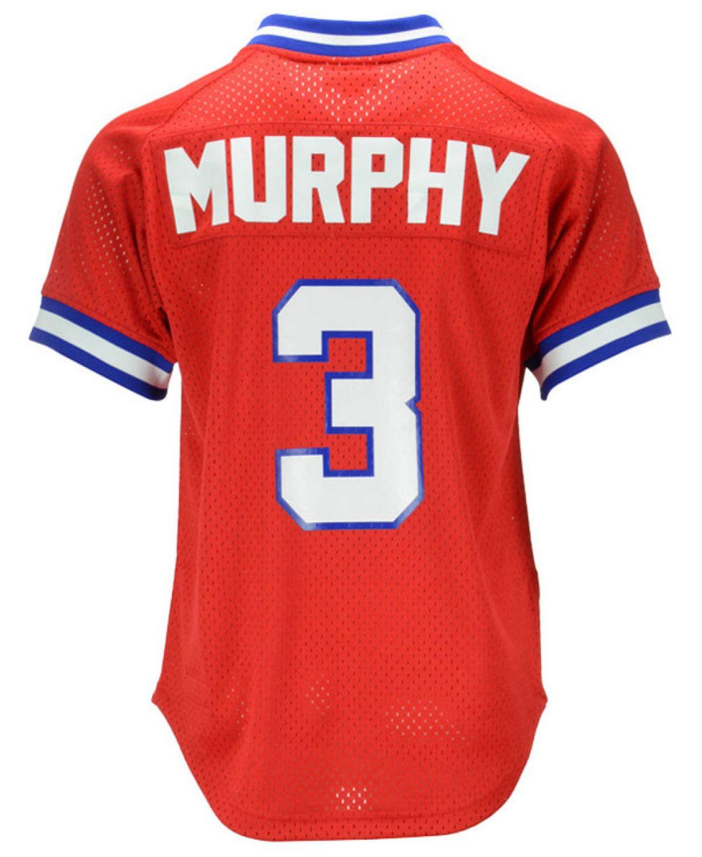 Mitchell & Ness Men's Dale Murphy Atlanta Braves Authentic Mesh Batting Practice V-Neck Jersey  & Reviews - Sports Fan Shop By Lids - Men - Macy's