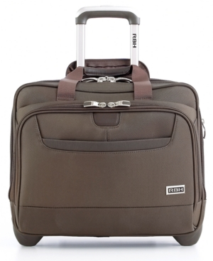 "Ricardo Beverly Hills Rolling Brief, 16"" Bel Aire Premier Laptop Friendly Business Case"