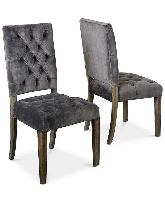 Noble House - Bowe Dining Chair (Set Of 2), Quick Ship