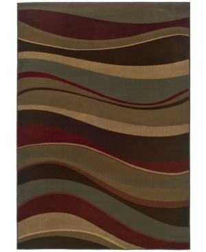 """MANUFACTURER'S CLOSEOUT! Sphinx Area Rug, Tribecca 64T Red 3'2"""" x 5'5"""""""