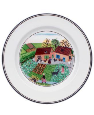 Villeroy & Boch Dinnerware, Design Naif Bread and Butter Plate Family Farm