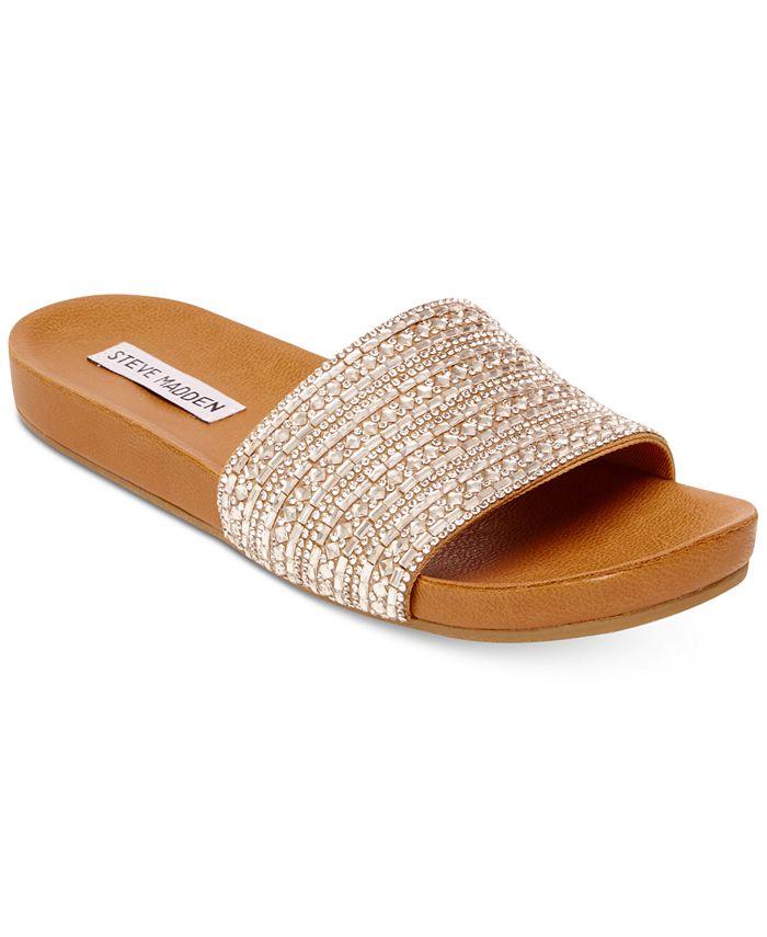 Steve Madden - Women's Dazzle Embellished Sandals
