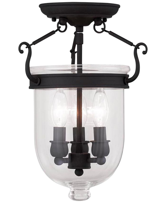 Livex - Jefferson Semi Flush Light