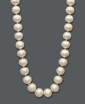 Belle de Mer Pearl Necklace, 14k Gold Cultured Freshwater Pearl Strand (11-12 mm)