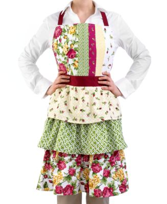 Homewear Apron, Rose Kiss