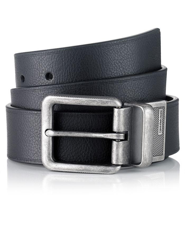 Calvin Klein - Belt, Big Buckle Jeans Belt