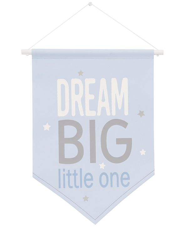 NoJo The Dreamer Collection Dream Big Little One Graphic-Print Wall Banner