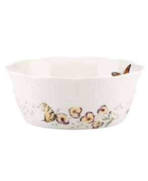 Lenox Dinnerware, Butterfly Meadow Basket Round Handled Basket