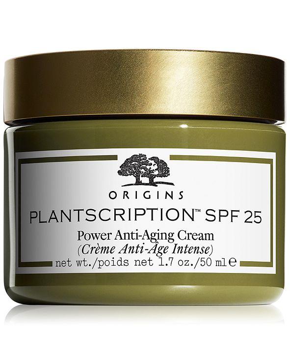 Origins Plantscription SPF 25 Anti-Aging Cream, 1.7-oz.
