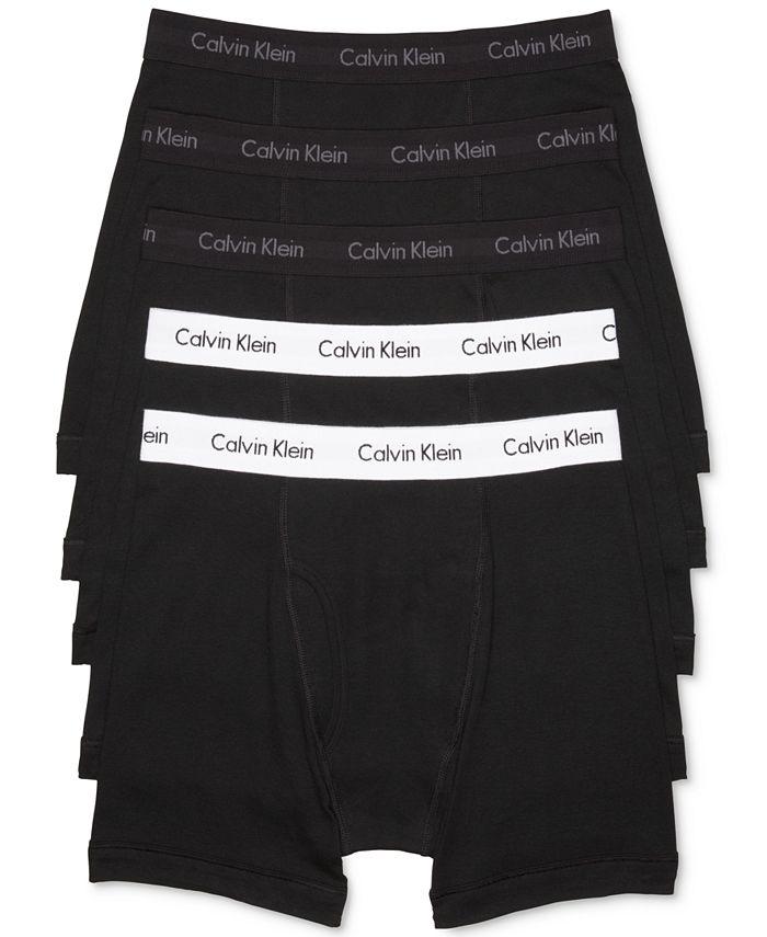 Calvin Klein - Men's 5-Pk. Cotton Classic Boxer Briefs