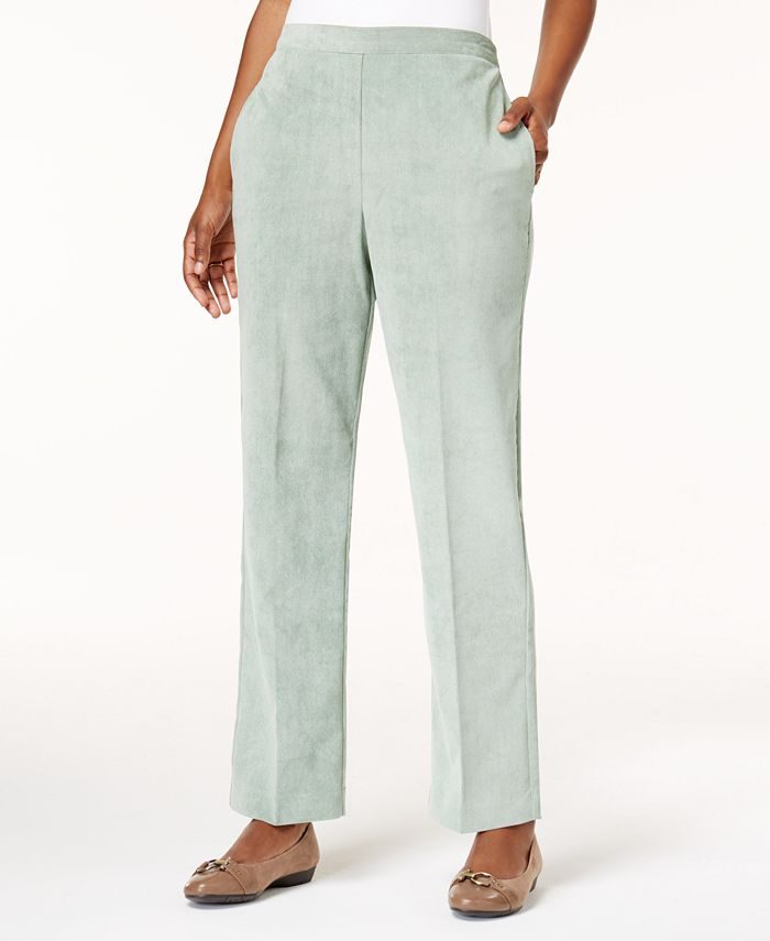 Alfred Dunner - Petite Pull-On Corduroy Pants
