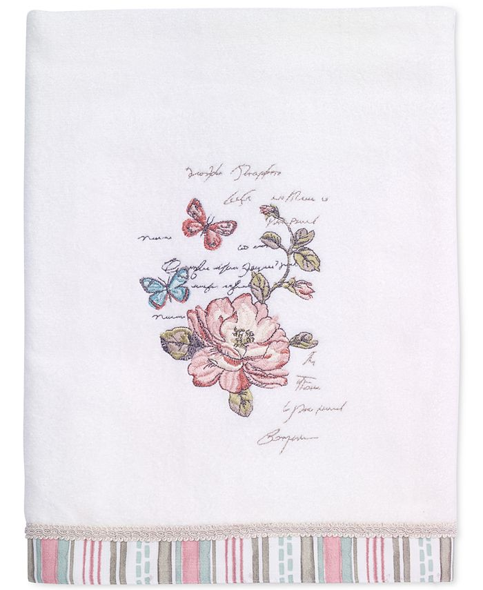 Avanti - Butterfly Garden Cotton Bath Towel