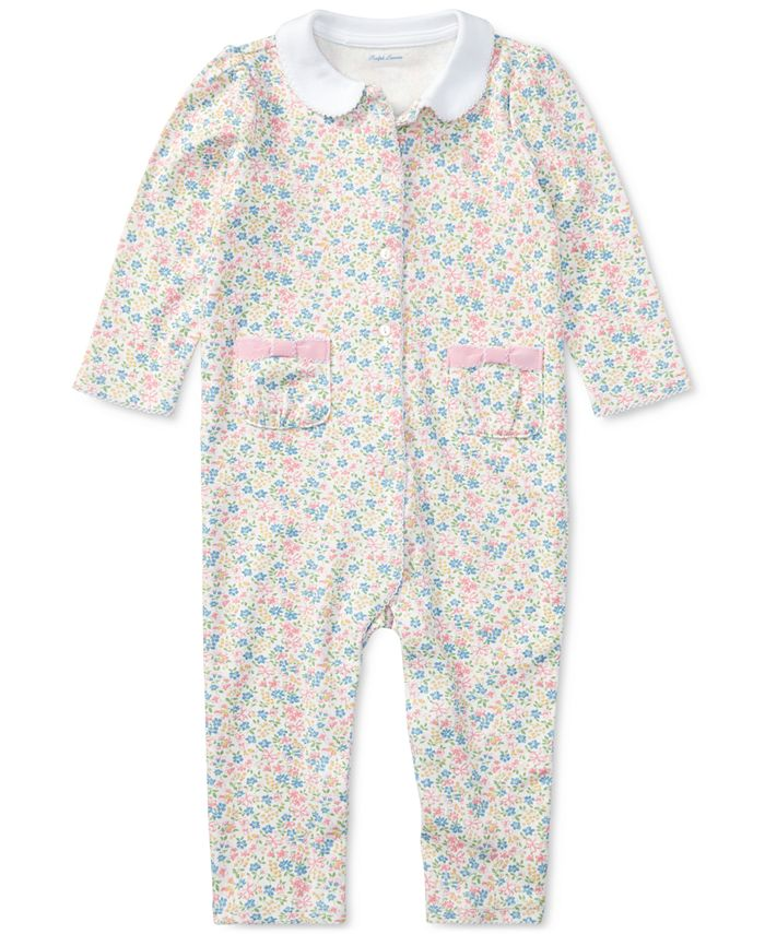 Polo Ralph Lauren - Baby Girls' Printed Coveralls