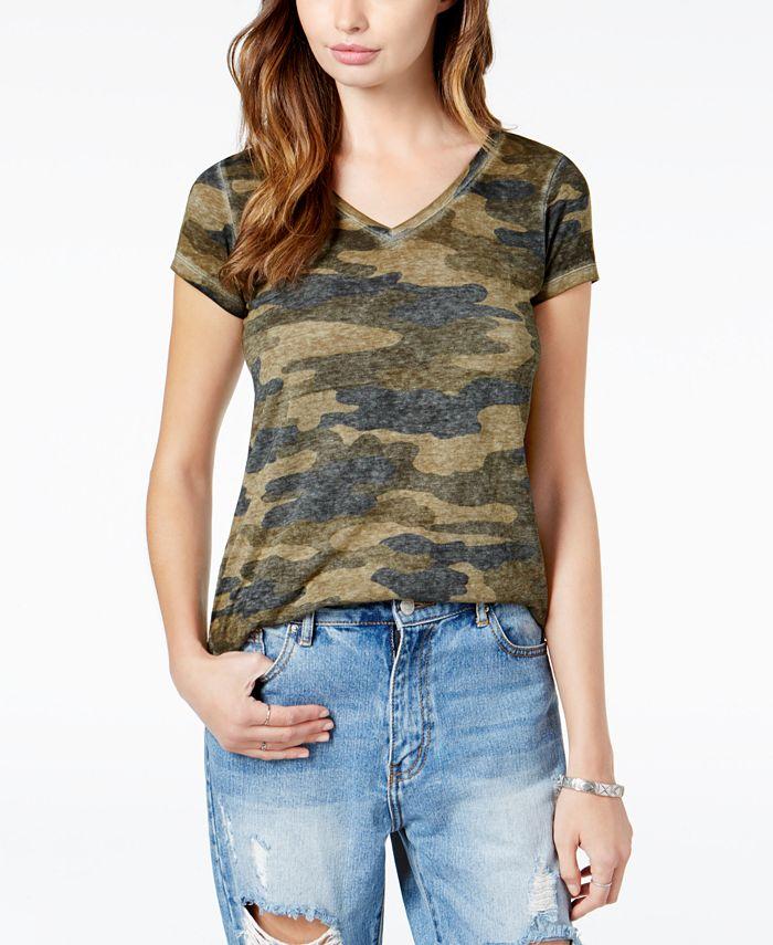 Lucky Brand - Camo-Print T-Shirt