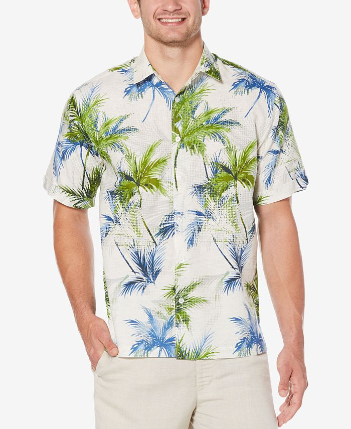 Cubavera - Men's Tropical Foliage Shirt